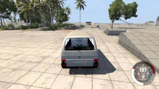 BeamNG drive VW Transporter T4