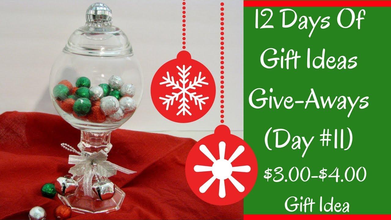 Christmas gift aways ideas