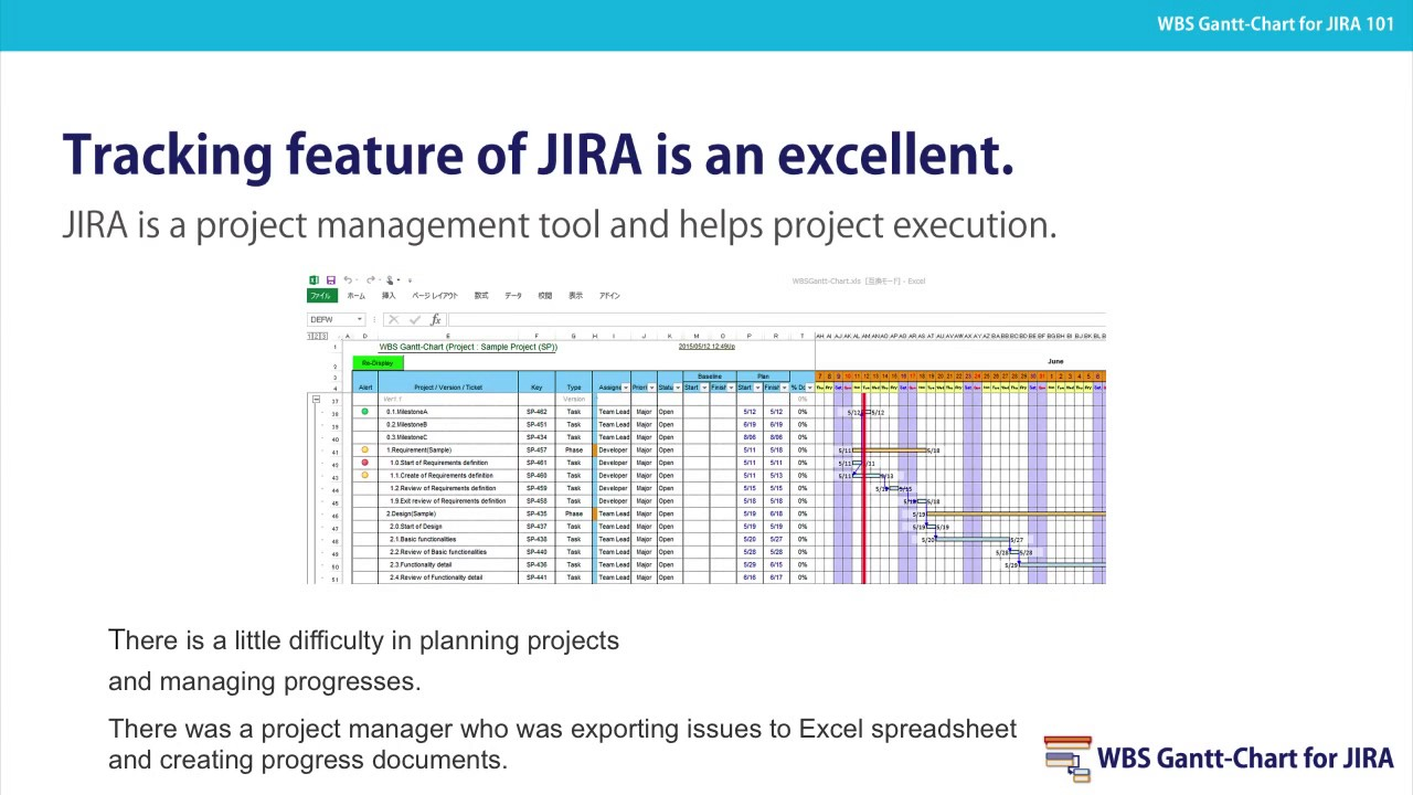 Introduction of wbs gantt chart for jira youtube introduction of wbs gantt chart for jira geenschuldenfo Choice Image
