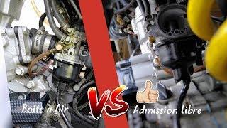 Admission Libre VS Boite à Air !!!