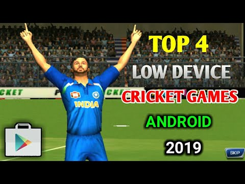 Top 4 Low Devices Cricket Games 2019