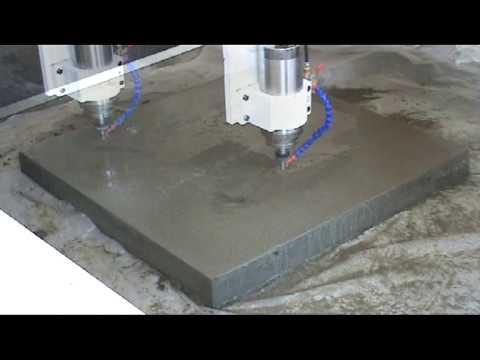 Гравировка на бетоне бетон кислостойкий