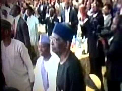 Founding Fathers of Nigeria Dancing Together at Nigeria Centenary Celebrations.
