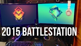Randomfrankp Battlestation / PC Gaming Setup Tour 2015