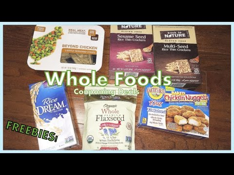 Whole Foods Couponing Deals Freebies Youtube
