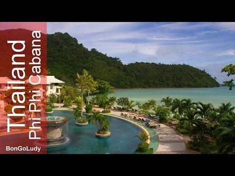 Thailand Phi Phi Island Cabana Hotel. Luxury on the island.