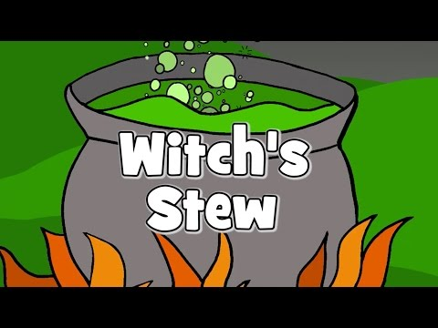 Witch's Stew | Halloween Songs for Kids