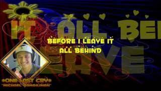 Repeat youtube video One Last Cry (Lyrics) - Michael Pangilinan Cover