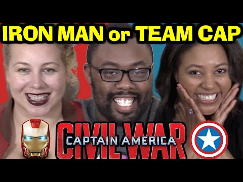 TEAM IRON MAN or CAPTAIN AMERICA? Civil War ft. CuriousJoi & Anastasia