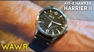 AVI-8 Hawker Harrier II Mens Pilot Watch Review - Best Pilot Watch Under $150?