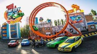 """Giro della Morte """"Grosso Guaio a Stunt City - Loop Hot Wheels"""" (Mirabilandia) 13/08/2015"""