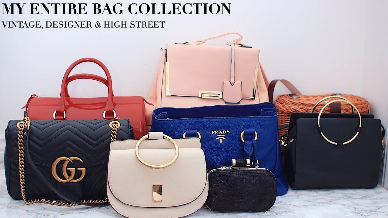 e52cad88968 ... new zealand my entire bag collection vintage gucci prada zara more  fashionbeautybug 32c50 e7815