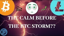 THE CALM BEFORE THE BITCOIN STORM?! BITCOIN, ETHEREUM, LITECOIN, DIGIBYTE UPDATE!