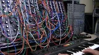 クラフトワークのホームコンピューターのライブバージョンをモジュラー...