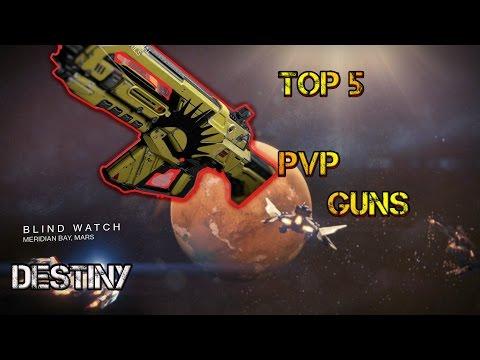 Destiny: Top 5 Best PVP Weapons! (After April Update!)