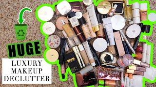 Download lagu HUGE Luxury Makeup Declutter 2021