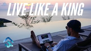How To Live Like A King As a Digital Nomad ; Day trading!