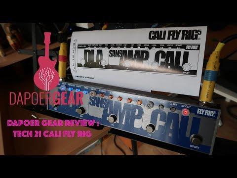 Dapoer Gear Review : Tech 21 Cali Fly Rig