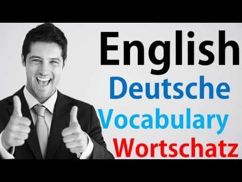 Video#90 Deutsch-Englisch Wortschatz Übersetzung German English Digital Publishing Dictation