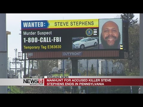 Accused Facebook killer shoots, kills himself after pursuit in Pennsylvania