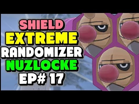 The CREEPIEST Wild Pokemon! - Pokemon Sword and Shield Extreme Randomizer Nuzlocke Episode 17