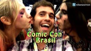 Comic Con Brasil con el Goth/Vardoc - Assassins Creed
