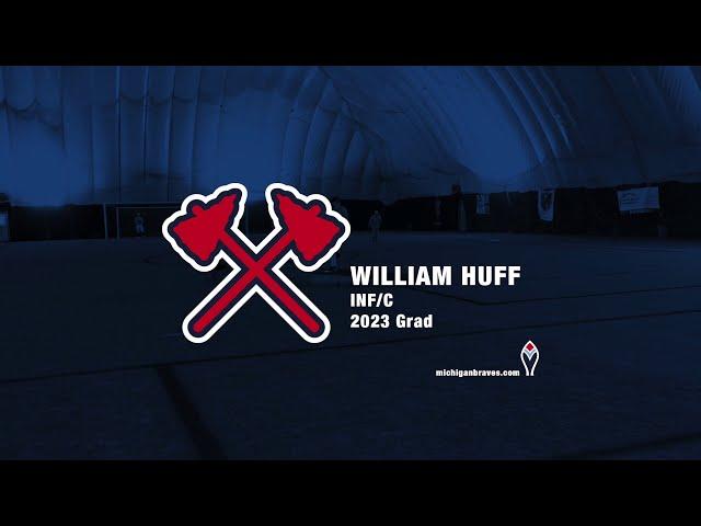 Michigan Braves Showcase William Huff