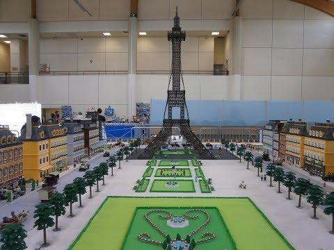 Playmobil exposition PARIS et sa tour Eiffel