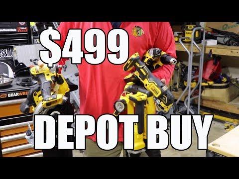 DeWALT 5 Tool Kit in a Tough Box at Home Depot