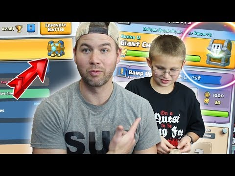 MY SON Messes up my PERFECT CLAN CHEST! HOW?? - Clash Royale