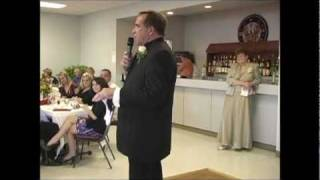 Video 11 - Father of bride (Gary) Welcome