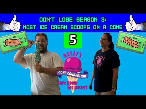 Don't Lose Season 3 Episode 5 | Most Ice Cream Scoops On A Cone (World Record Attempt)