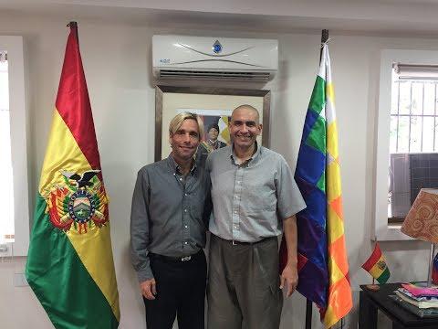 Entrevista exclusiva con el embajador de Bolivia en Venezuela