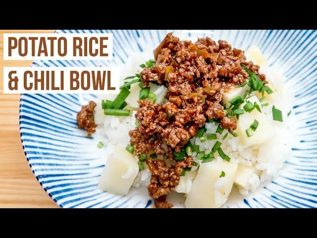 Potato Rice & Korean Chili Bowl + Fried Egg