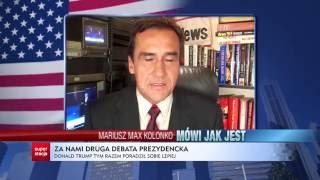 "Mariusz Max Kolonko ""Mówi, jak jest"" - Druga debata"