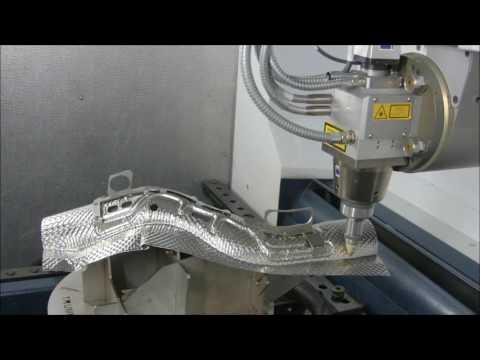 TRUMPF 3D laser processing: TruLaser Cell 3000 - 3D laser cutting of heat shields