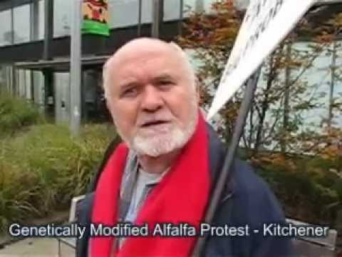 Genetically Modified Alfalfa Protest in Kitchener
