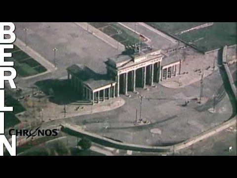 Berliner Mauerstreifen 1961, seltene Luftaufnahmen