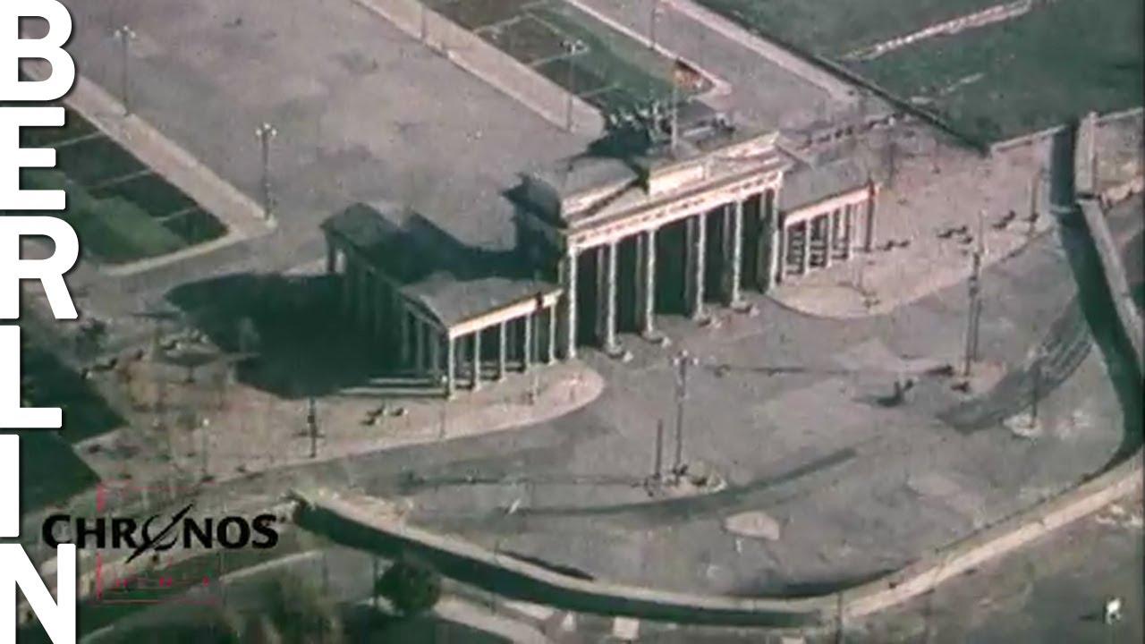 Berliner Mauerstreifen 1961 Seltene Luftaufnahmen Youtube