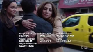 Brooklyn Nine-Nine Gina gets hit by a bus