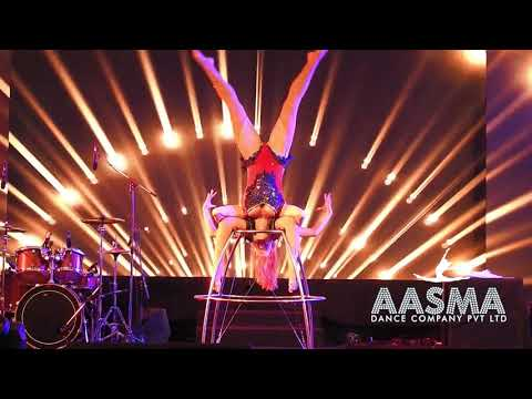 Acrobat With Russian Performer by (Aasma Dance Company)