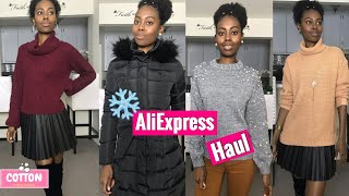 AliExpress Winter Haul | TRY ON | Shein | Love Couture | Forever 21
