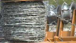 Barbed Wire Dispenser