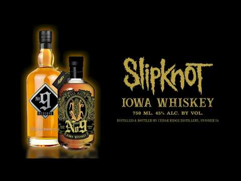 AJ - Slipknot Introduces Their Own Whiskey: No. 9 Iowa Whiskey