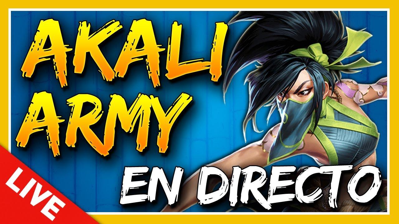 Probamos el NUEVO ESTUDIO! Seguimos RANKEANDO con AKALI en DIRECTO! - AKALI ARMY