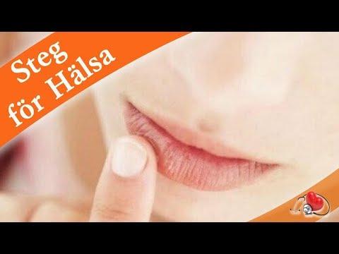 få bort munsår snabbt huskur
