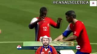 Costa Rica vs Paraguay Copa America Centenario 2016