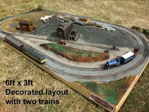 Dinkley Bottom: Build a layout in a day: The Build