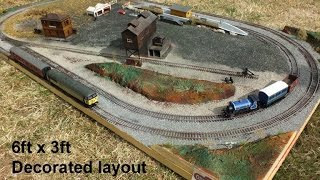 Dinkley Bottom: Build a layout in a day: The Build - Laurie Calvert