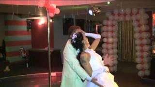 Андрей Доронин и Настя в свадебном танце